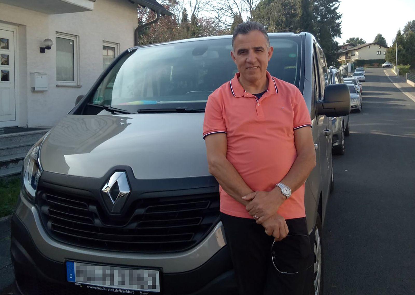 Taxifahrer Hsain Fettat