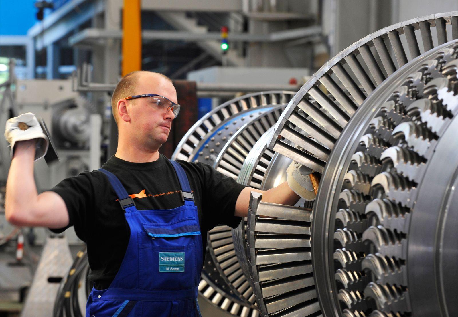 Deutschland / Konjunktur Industrie Produktion