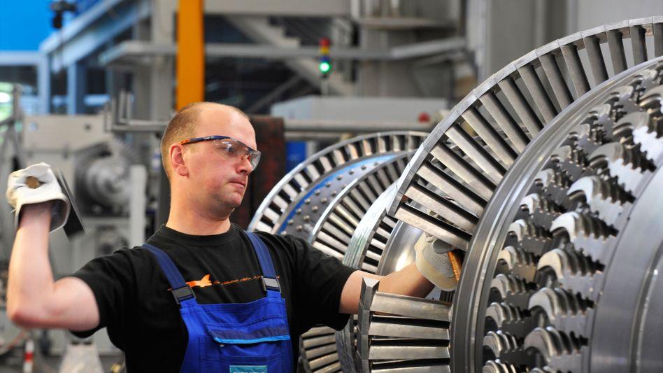 Industrieproduktionbei Siemens (Archivbild)