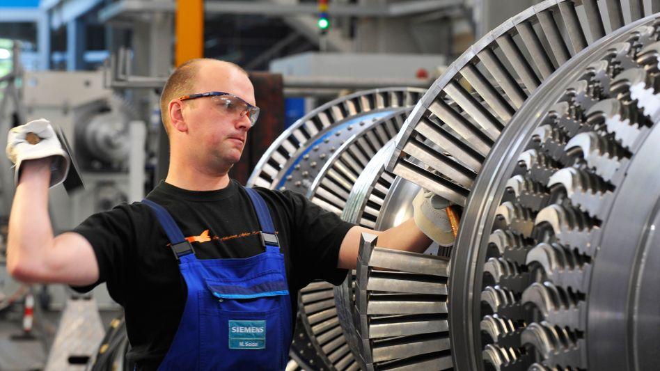 """Exportschlager Turbine (bei Siemens): """"Nicht politisch angeordnet"""""""