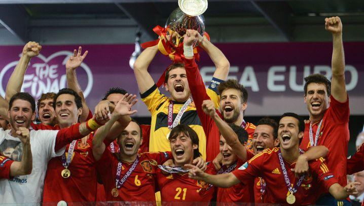 WM-Team Spanien: Liga der Champions