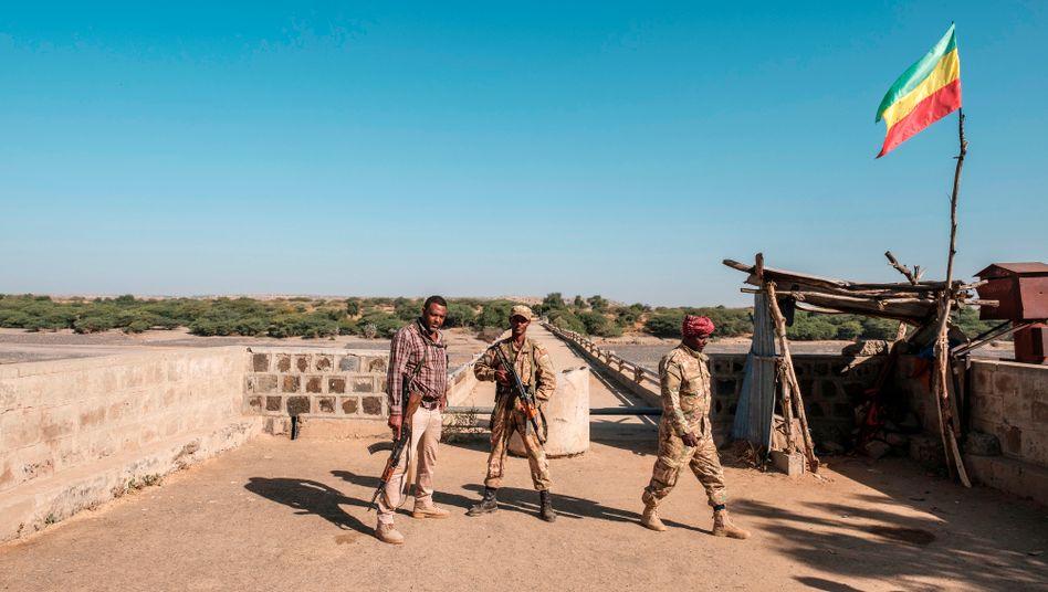 Zum Kampf bereit: Amharische Soldaten in der Provinz Tigray