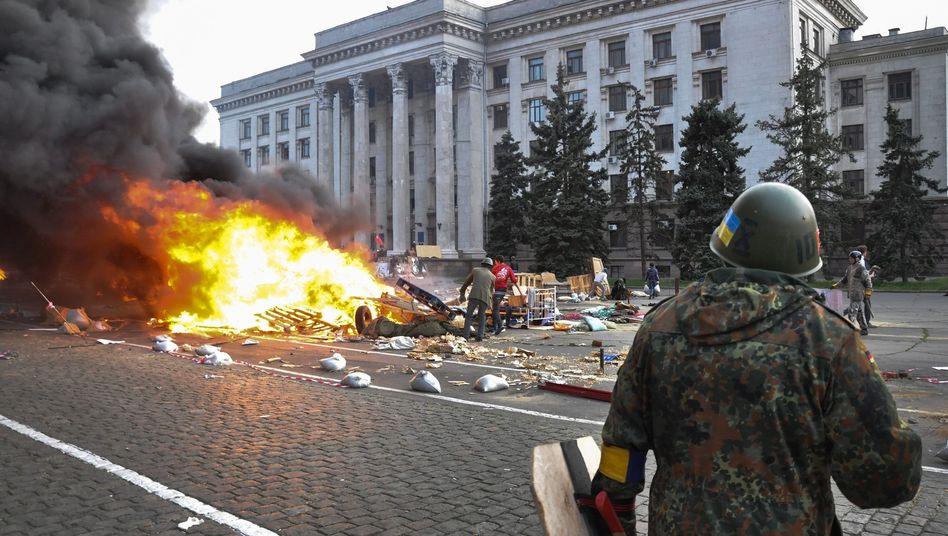 Dutzende Brandopfer in Odessa: Tödlicher Hass
