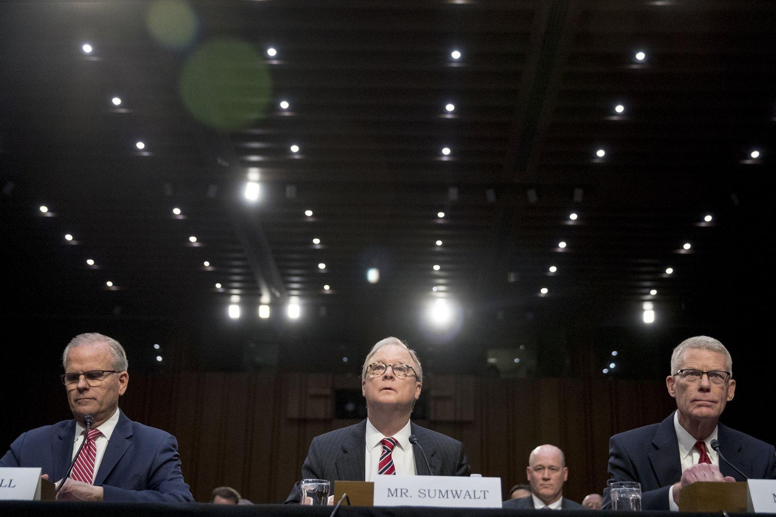 Senatsanhörung zu Boeing 737 Max Robert Sumwalt