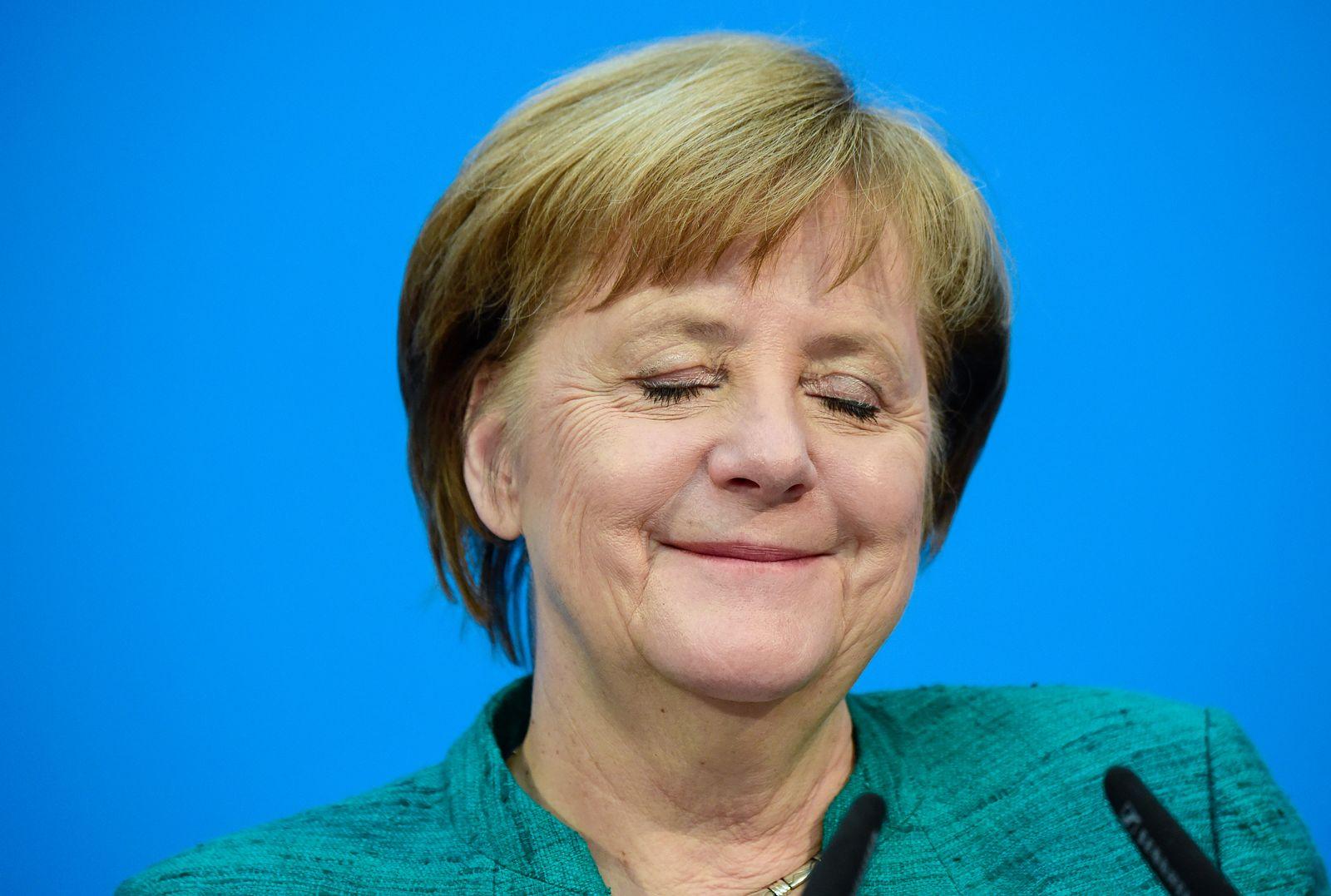 Angela Merkel/ Bundespressekonferenz