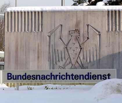 TheBND headquarters in Pullach near Munich.