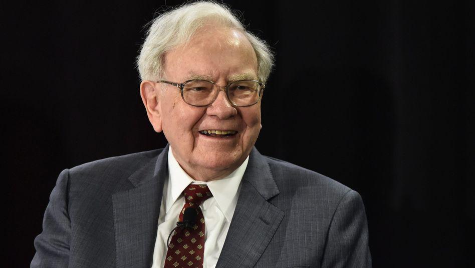 Investor Buffett: Ende August wird er 85 Jahre alt