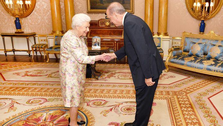 Visite: Erdogan bei der Queen