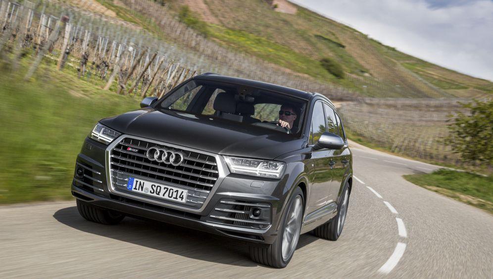 Autogramm Audi SQ7: Kraft für zwei