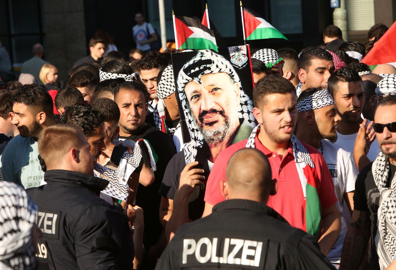 Demonstration / Palästina / Gaza / Berlin