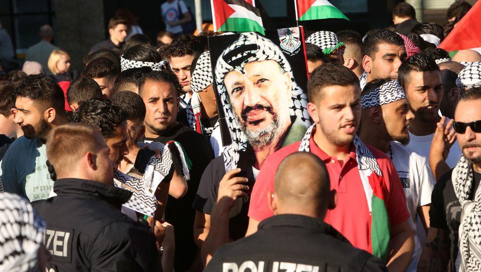 "Gaza-Demonstration in Berlin (am vergangenen Donnerstag): ""Kultur des Hasses"""