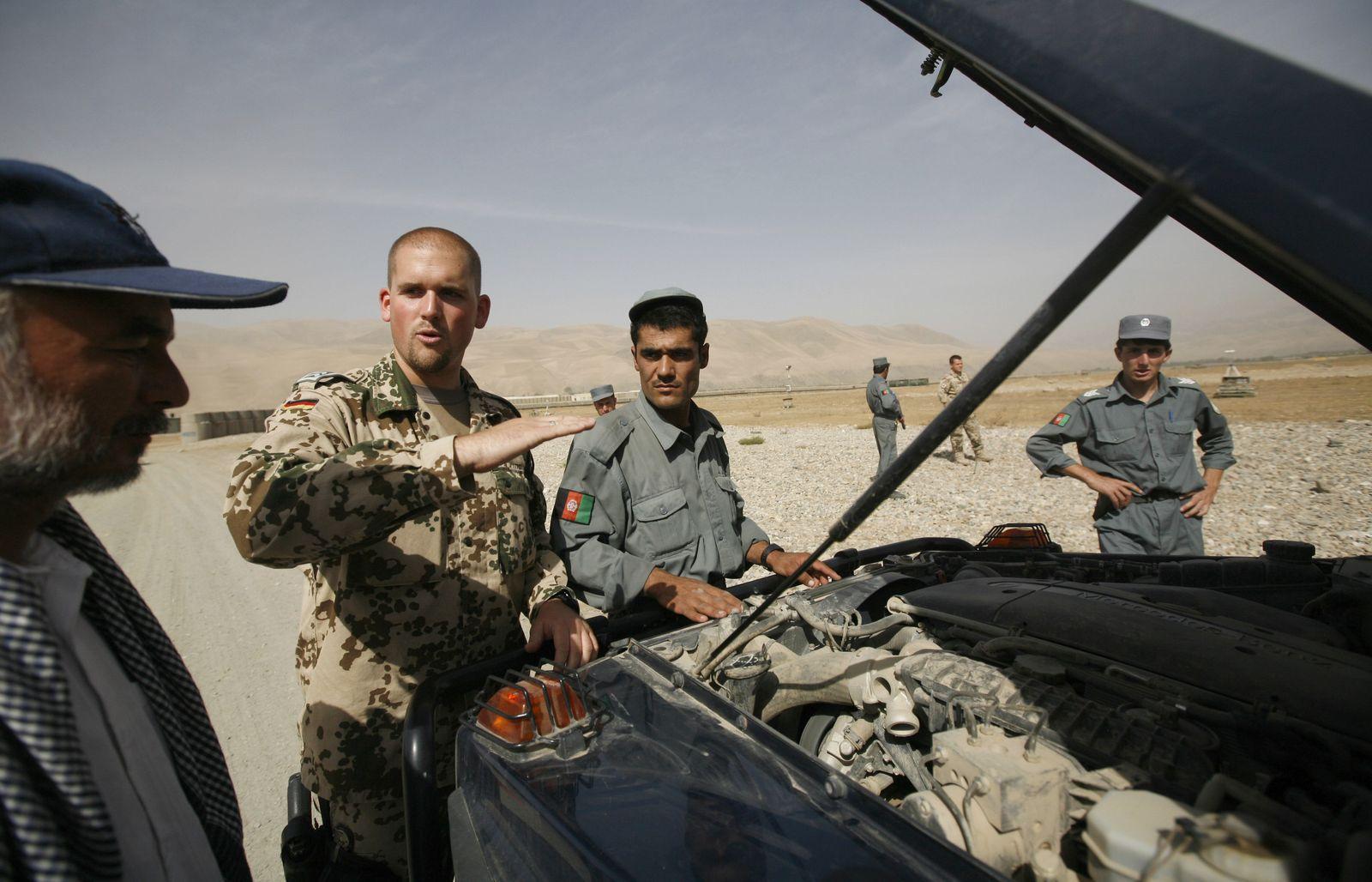 Afghanistan/ Bundeswehr/ Ausbildung von Afghanen