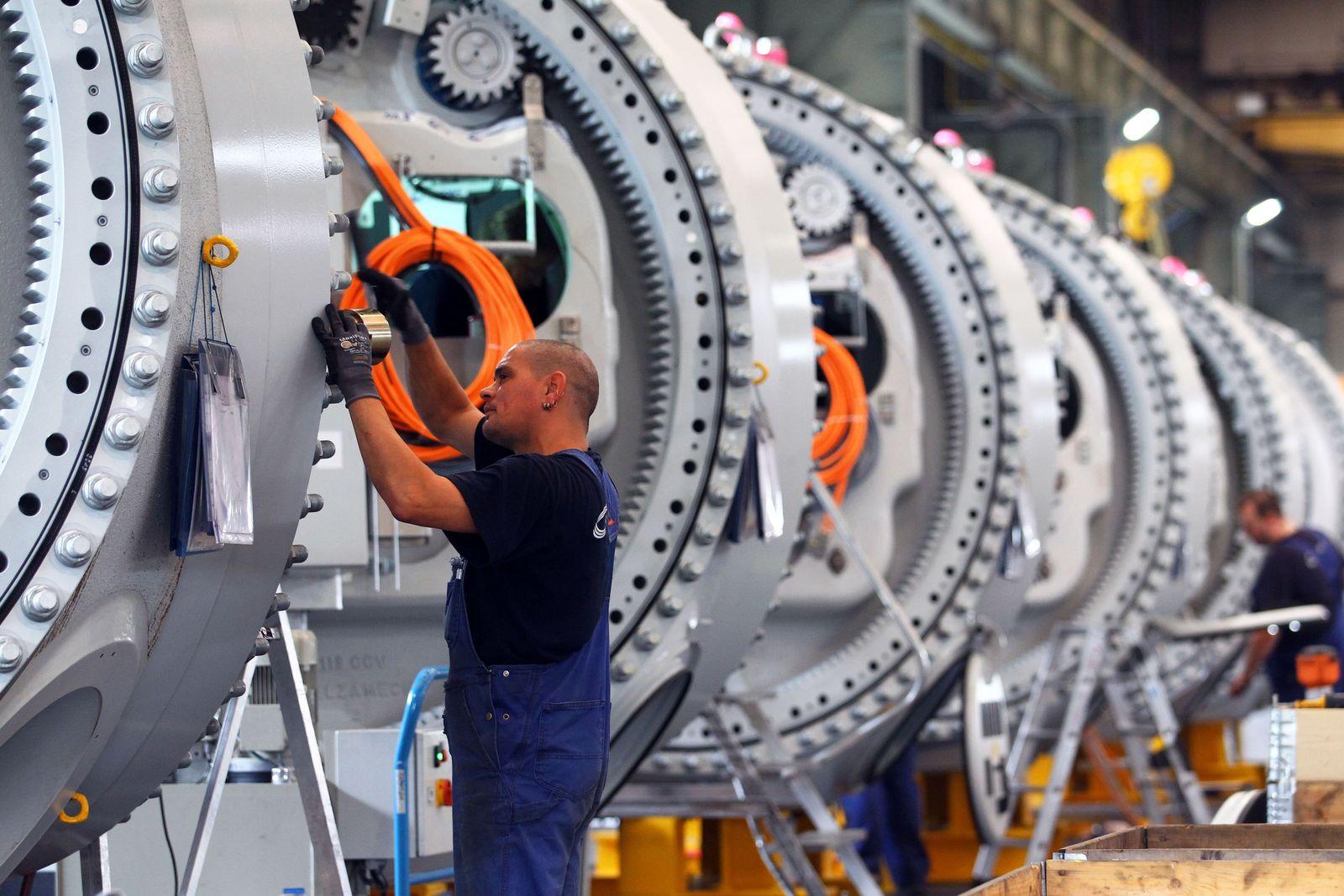 Wachstumsprognose/ Maschinenbau
