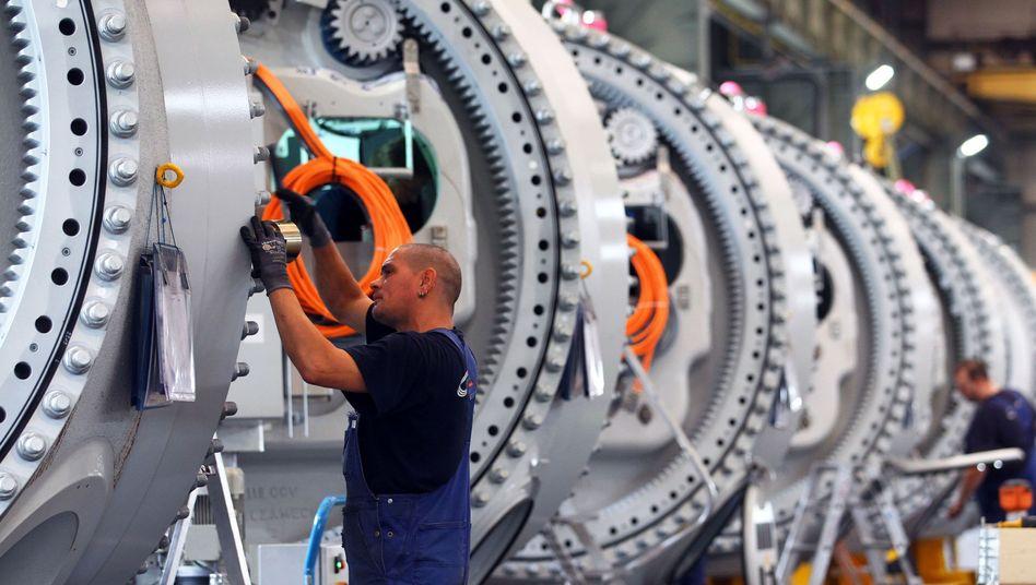 Maschinenbauer in Deutschland: Nachbesserung im zweiten Quartal