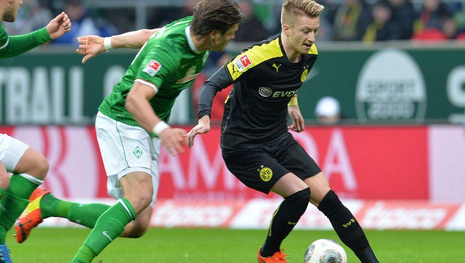 BVB-Spieler Reus (r.): Am Oberschenkel verletzt