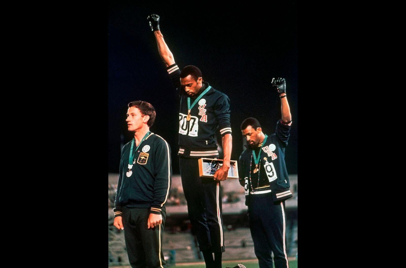 IOC Athlete Protest