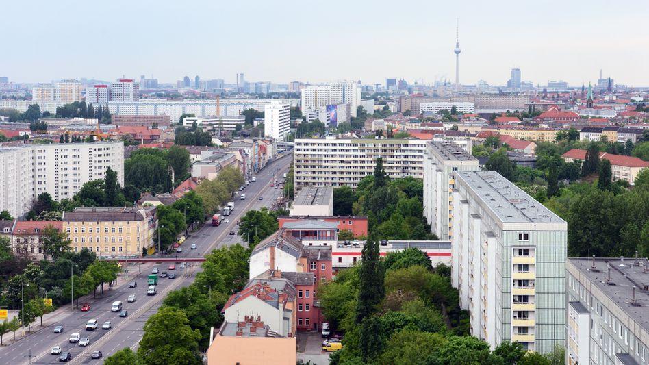 Blick auf Berlin-Lichtenberg (Archivbild)