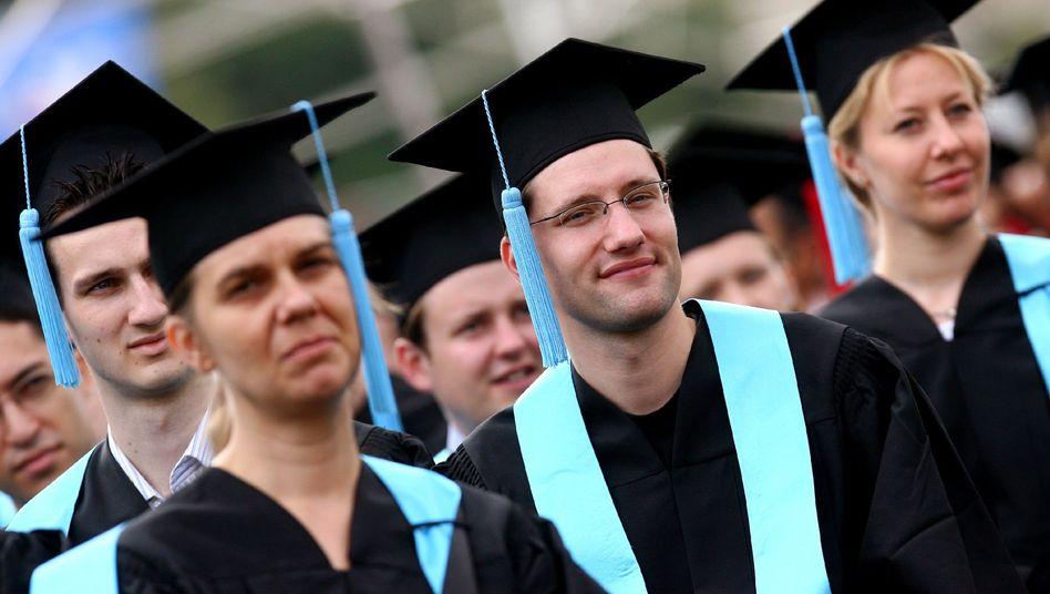 Hochschulabsolventen: Wer es sich leisten kann, lehrt weniger oder gar nicht