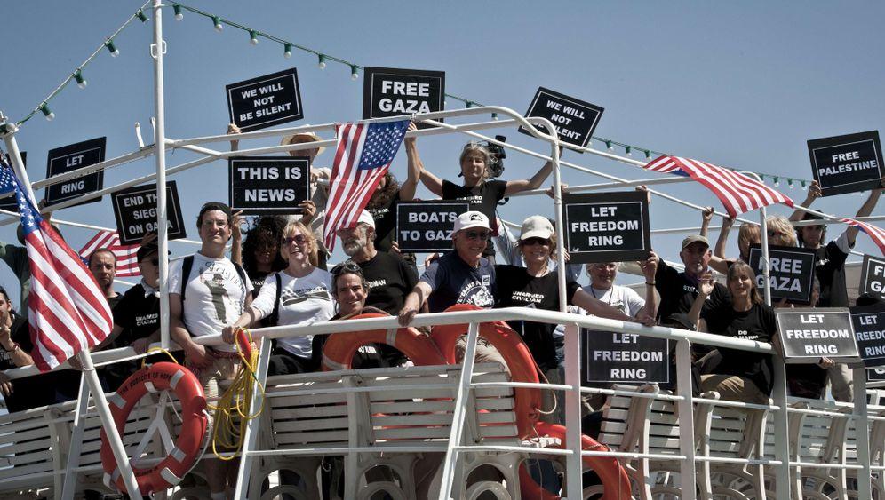 Gaza: Propagandakrieg um Flotille