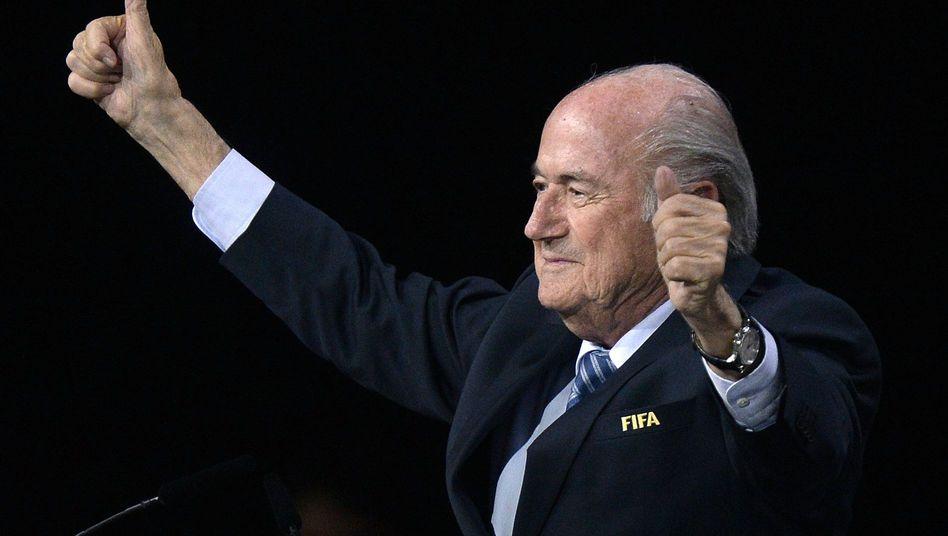 Fifa-Präsident Blatter: Wiederwahl ist Triumph und Tragödie