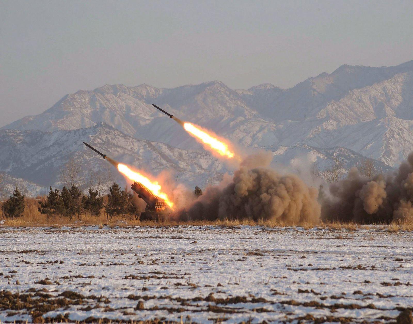Nordkorea kleine raketen