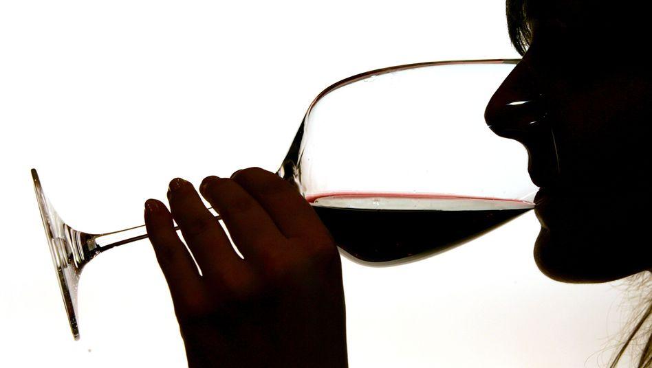 Ein guter Rotwein: Schmackhaft, aber auf keinen Fall ein Lebenselixier