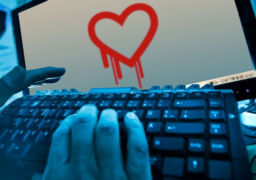 Keyvisual Heartbleed