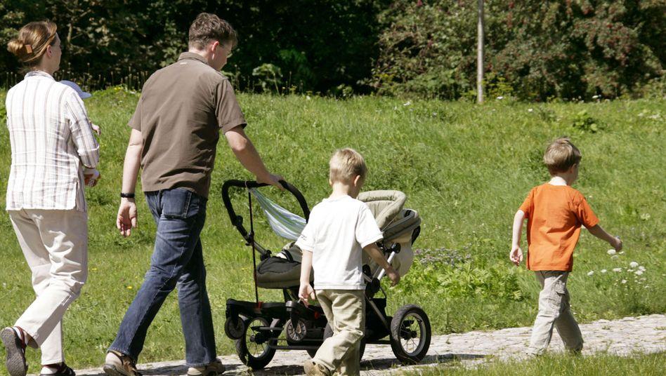 Mutter, Vater, Kinder: Das ist noch immer die häufigste Familienform in Deutschland