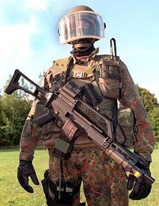 KSK-Soldat in Kampfausrüstung