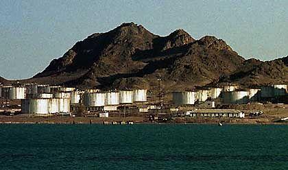 Turkmenisches Öllager amn Kaspischen Meer: Wertvolles Beutestück im Großen Spiel