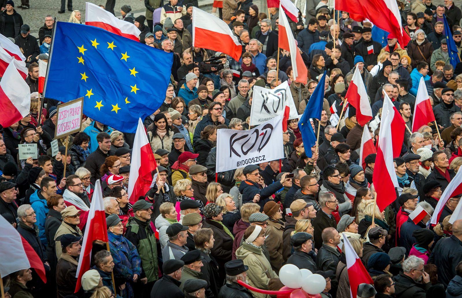 Polen / Proteste