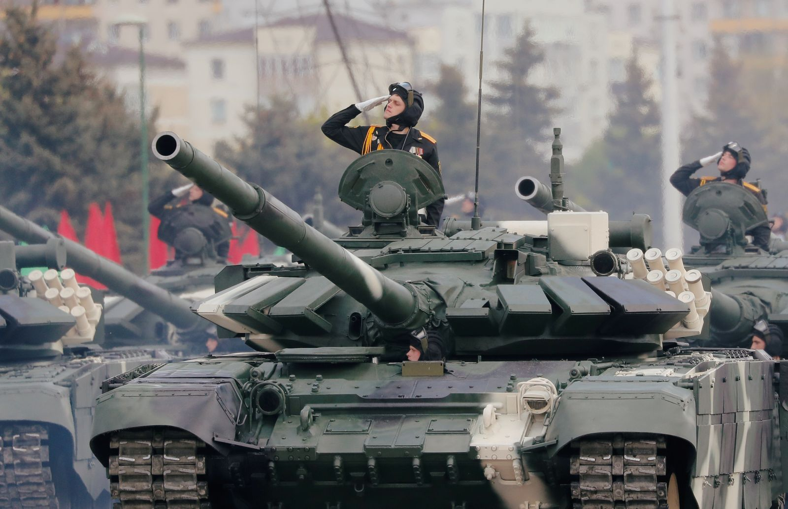 Victory Day parade in Belarus