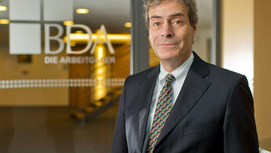 BDA-Präsident Ingo Kramer