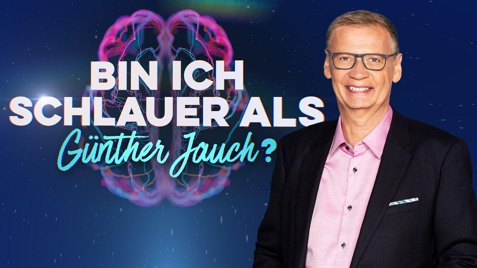 EINMALIGE VERWENDUNG TV/ Bin ich schlauer als Günther Jauch?