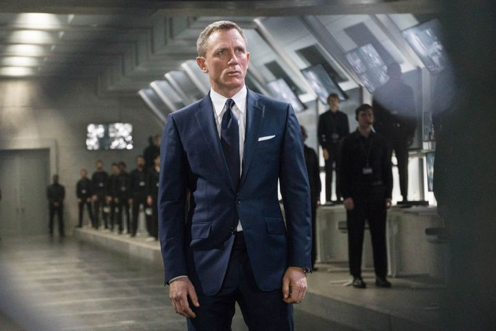 """Daniel Craig im letzten Bond-Abenteuer """"Spectre""""."""