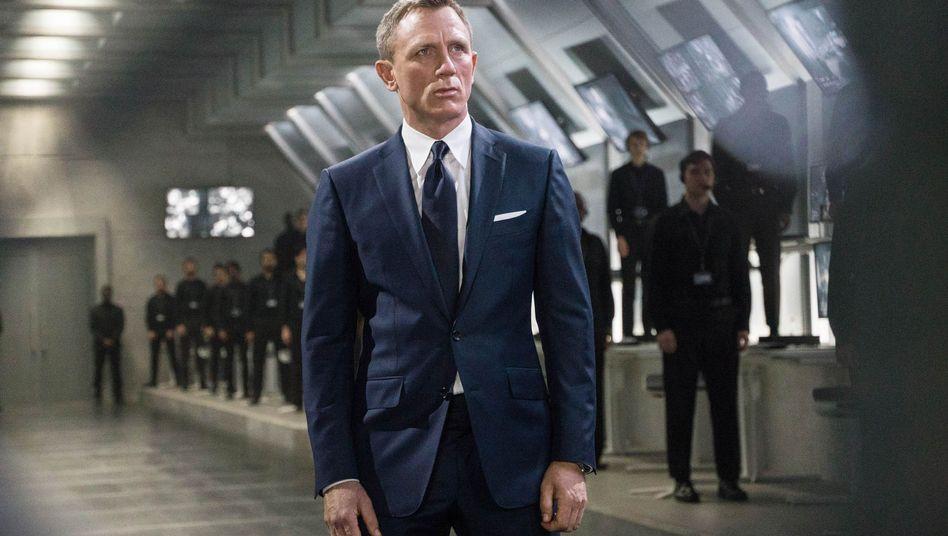 """Daniel Craig als James Bond in """"Spectre"""" von 2015"""