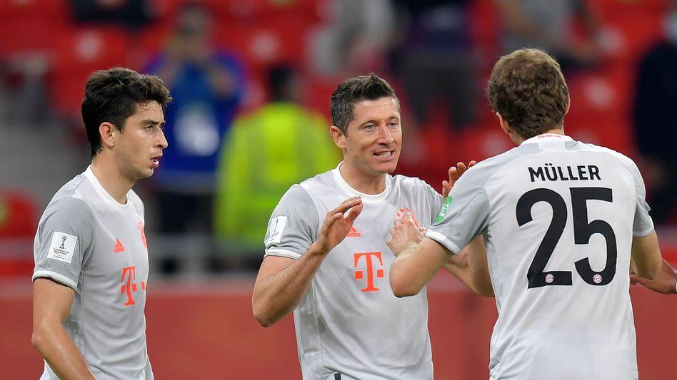 Robert Lewandowski bleibt auch bei der Klub-WM torgefährlich