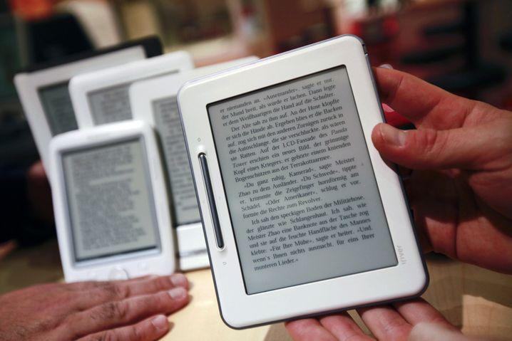Einer von vielen E-Book-Readern