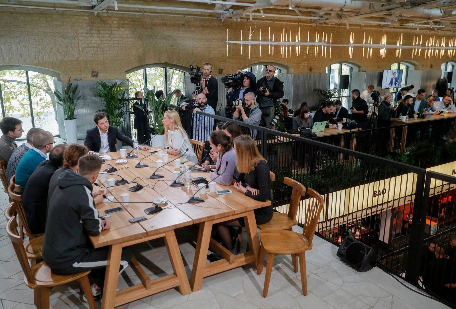 Selenskyj/ Press Marathon