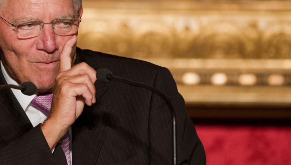 Finanzminister Schäuble: In der Politik nur einen einzigen Freund