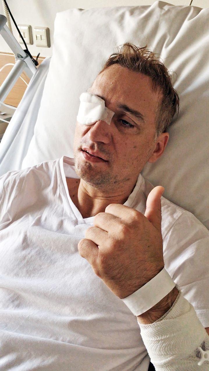 "Paul van Dyk im Krankenhaus: ""Nur Laute"""