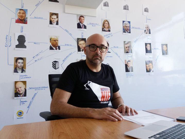 aktuality-Chefredakteur Peter Bardy