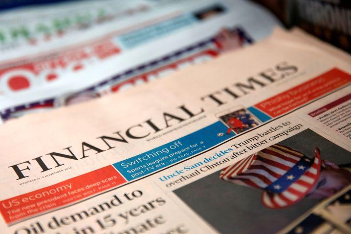 US-Ausgabe der Financial Times (Symbolbild)