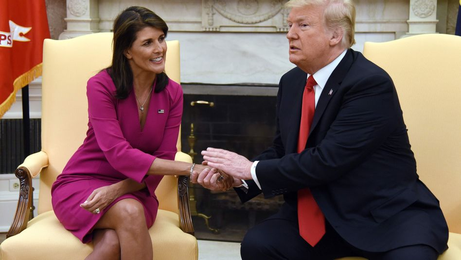 Haley und Trump
