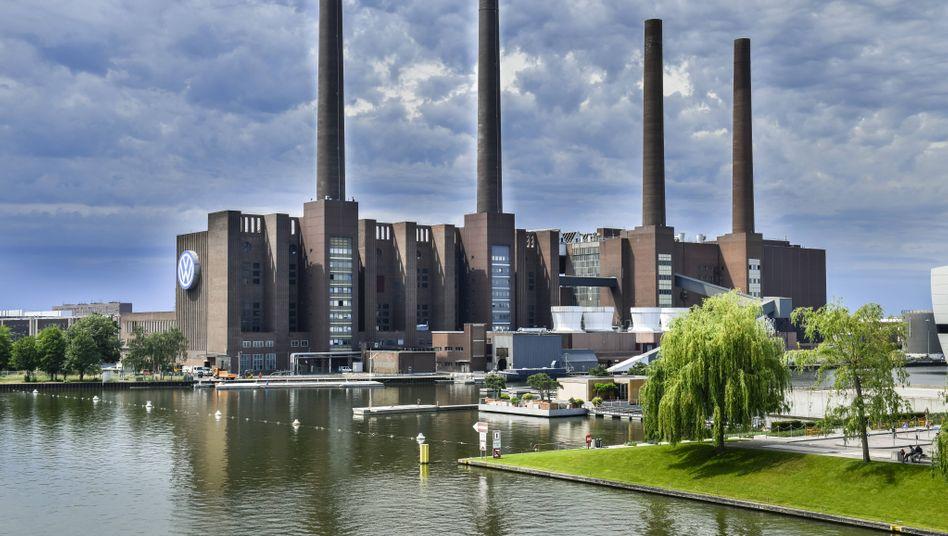 VW-Werk in Wolfsburg: die Industrie als Gewinner