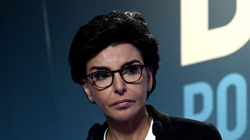 Frankreichs Ex-Justizministerin Rachida Dati bei der Bürgermeisterwahl 2020