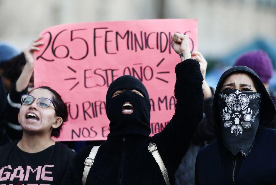 Beinahe jeden Tag prangern Frauen in Mexiko die Femizide im Land an, vor Kurzem wurde eine Siebenjährige ermordet