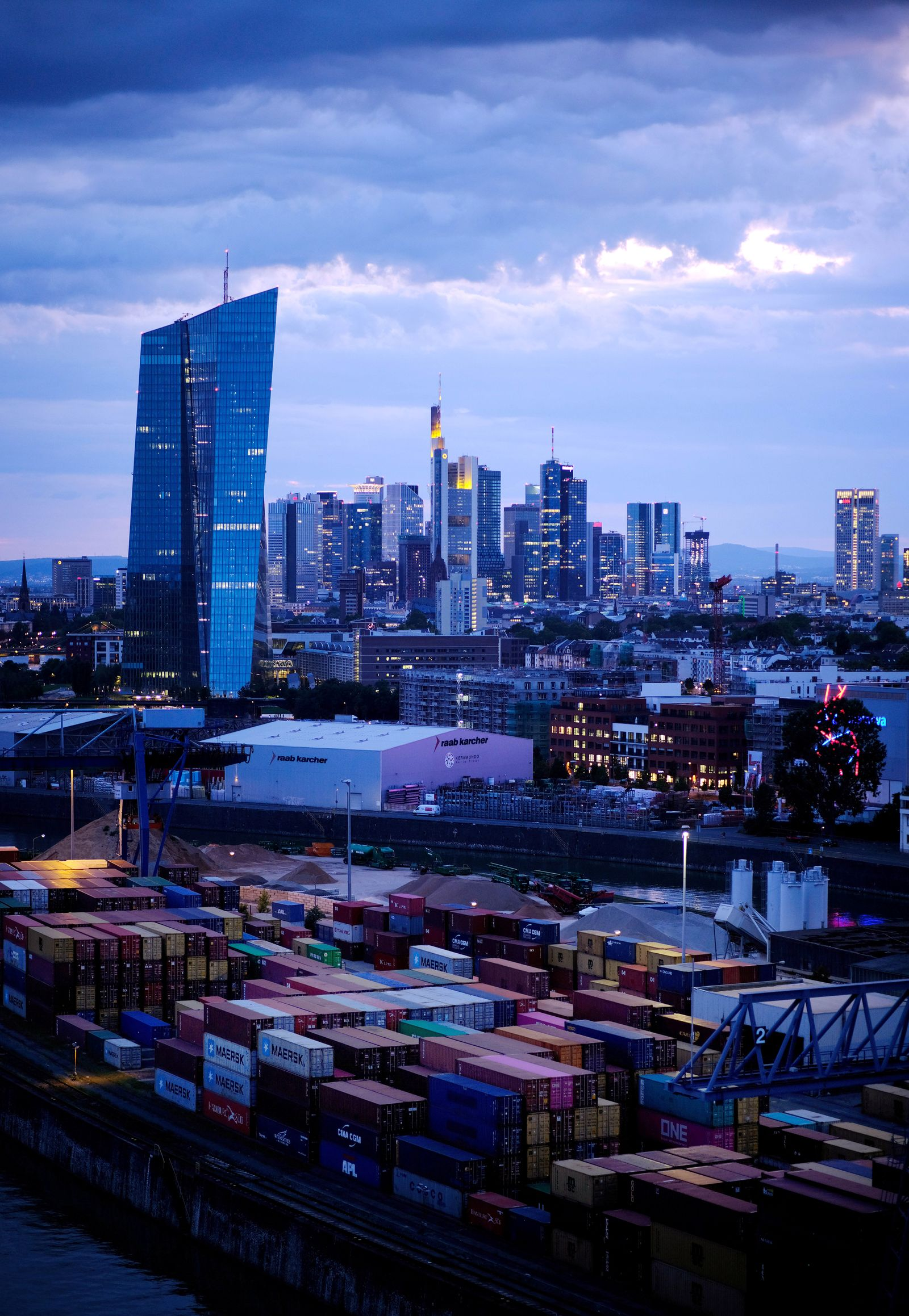 Bankenviertel Frankfurt