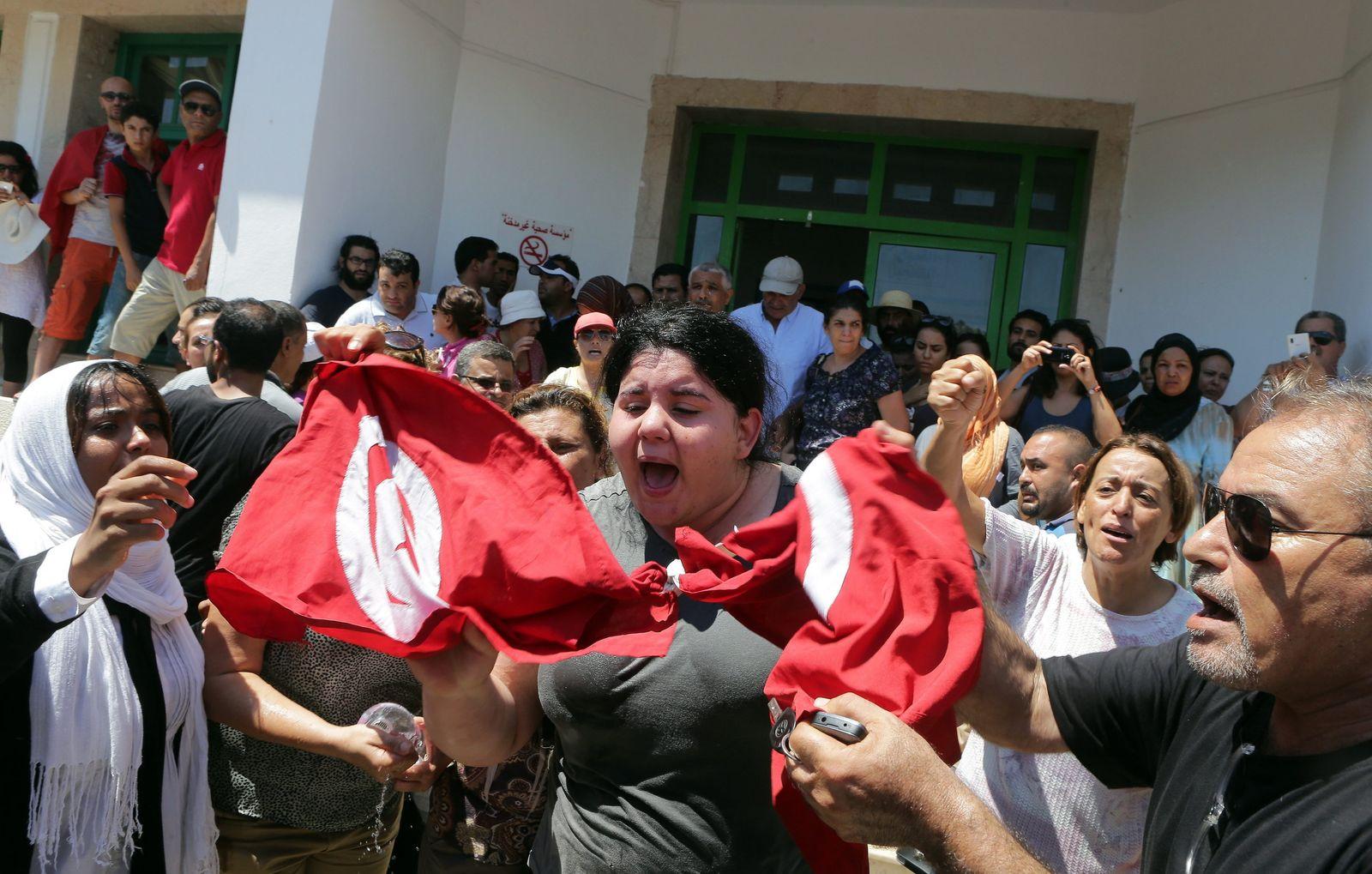 Tunesien/ Proteste