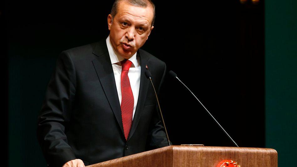 Erdogan: Reden mit westlichen Journalisten, Diplomaten und Politikern unerwünscht